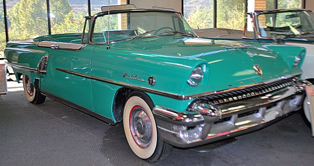 1955 Mercury Montclair Convertible & Classic Car Specifications Engine Wheelbase production numbers ... markmcfarlin.com